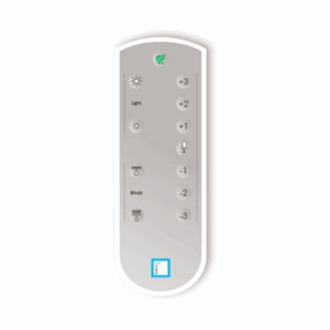 IR Remote control, temperature / lights / blinds