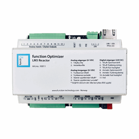 KNX Optimizer, LM5 Re:actor