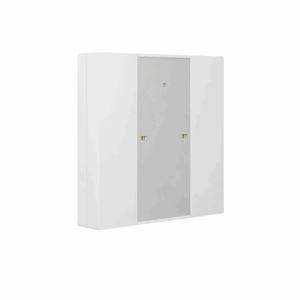 KNX Bryter 1-veis, Plus, LED, hvit matt, 55x55, BE-TA55P2.01