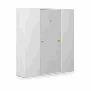 KNX Bryter 1-veis, Plus, LED, hvit blank, 55x55,BE-TA55P2.G1