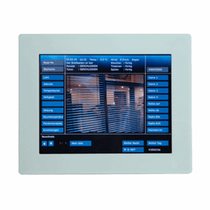 "Ramme Touchpanel 10"", hvit glass, VCB-07WS.02"