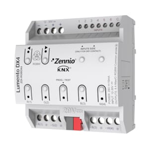 KNX Dimmer RGBW, LED, Lumento DX4