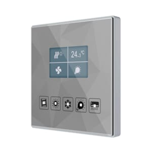 KNX Glassbryter TMD Display Square Eget design