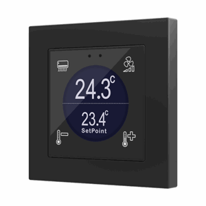 KNX Glassbryter Flat 55 Display, Eget design