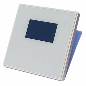KNX Glassbryter TMD Display Square, hvit design