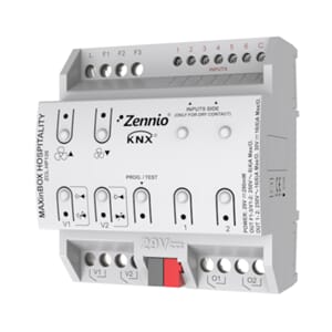 KNX Fancoilcontroller m/tretrinns reg, 6x digital/analog inn