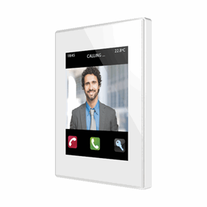 KNX Touchpanel fargedisplay, Z41 COM